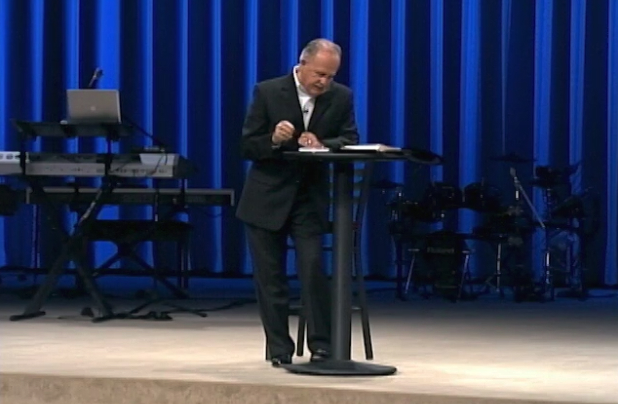 Pastor Al Jandl Preaching